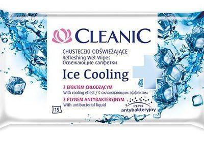 Cleanic CHUSTECZKI ODŚWIEŻAJĄCE ICE COOLING 15szt.