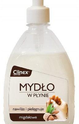 Clinex Mydło w płynie nawilżające 500ml migdałowe