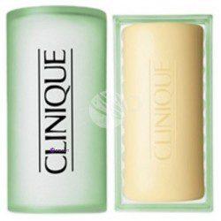 Clinique Facial Soap Oily Skin Formula with Dish mydełko do twarzy cera tłusta 100g + mydelniczka