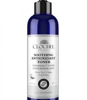 Clochee CLOCHEE_Soothing Antioxidant Toner łagodzacy tonik antyoksydacyjne Green Tea & Ginkgo Leaf Extract 250ml p-5903240022021