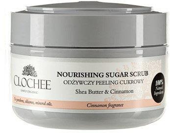Clochee Odżywczy peeling cukrowy - cynamon 250ml