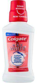 Colgate Palmolive Max White wybielający płyn do płukania jamy ustnej bez alkoholu 250 ml