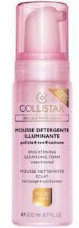 Collistar Mousse Detergente Brightening Cleansing Foam rozświetlająca pianka 200ml