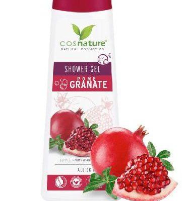 CosNature Cosnature Naturalny odżywczy żel pod prysznic z owocem granatu 250 ml 7080014