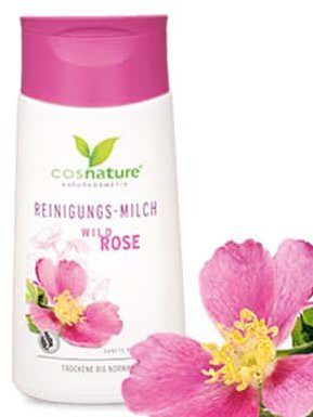 Cosnature Naturalne mleczko oczyszczające do twarzy z dziką różą 150ml