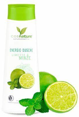 cosnature Naturalny energetyzujący żel pod prysznic z limonką i miętą 250ml Cosnature