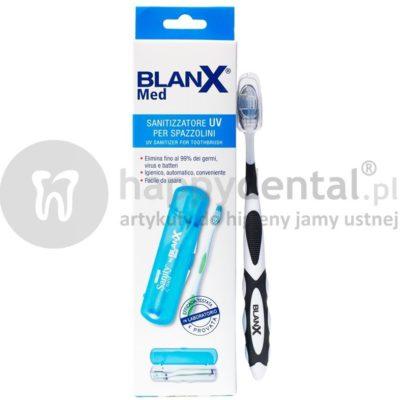 Coswell BLANX SANITYZATOR UV do szczoteczek manualnych + szczoteczka BLANX