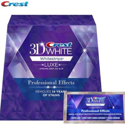 Crest Paski wybielające CREST LUXE Professional Effects (20 pasków (10 saszetek))
