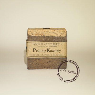 Czyste Mydło Mydło Kastylijskie Peeling Kawowy 100g