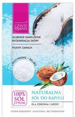 Czyste Piękno Naturalna sól do kąpieli z olejem kokosowym - Czyste Piękno Naturalna sól do kąpieli z olejem kokosowym - Czyste Piękno