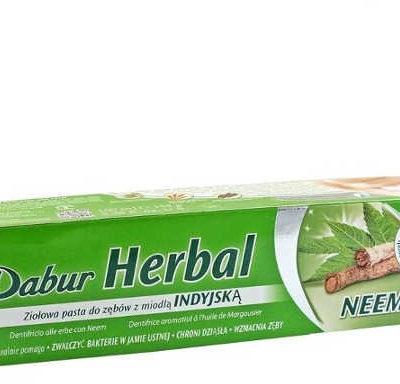 Dabur Pasta do zębów z korzenia drzewa Neem bez fluoru 100 g