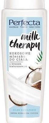 DAX Cosmetics PERFECTA_Milk Therapy kokosowe mleczko do ciała Silne nawilżenie 350ml p-5900525064653