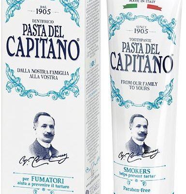 Del Capitano pasta do zębów dla palaczy, 75 ml
