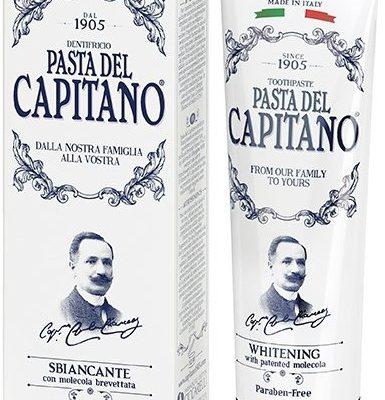 Del Capitano pasta do zębów wybielająca, 75 ml