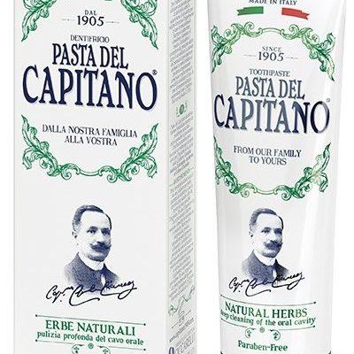 Del Capitano pasta do zębów ziołowa, 75 ml
