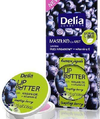 Delia Cosmetics Cosmetics, Lip Butter, masełko do ust Kusząca Jagoda, 2,5 g