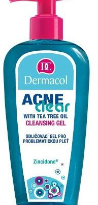 Dermacol AcneClear Cleansing Gel 200ml W Żel do twarzy 72954