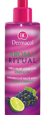 Dermacol Aroma Ritual Liquid Soap Grape&Lime 250ml W Mydło W płynie