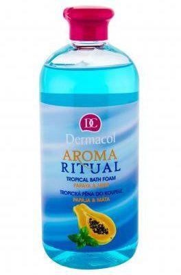 Dermacol Aroma Ritual Papaya & Mint pianka do kąpieli 500 ml