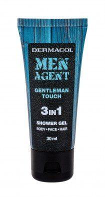 Dermacol Men Agent Gentleman Touch 3in1 żel pod prysznic 30 ml dla mężczyzn