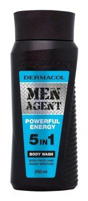 Dermacol Men Agent Powerful Energy 5in1 żel pod prysznic 250 ml dla mężczyzn