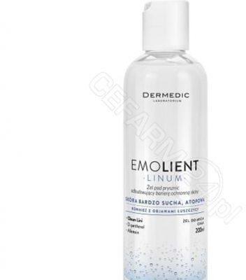 Dermedic Emolient Linum żel pod prysznic 200ml
