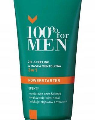 Dermika 100% for Men Powerstarter 3w1 Wyprzedaż