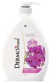 Dermomed DermoMed Orchidea i Kaszmir Mydło do rąk i twarzy 1L) 8054633835234