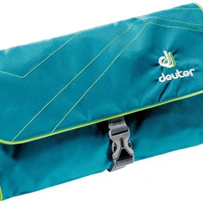 Deuter Kosmetyczka turystyczna Wash Bag II Petrol/Kiwi roz uniw 39434-3214) 39434-3214
