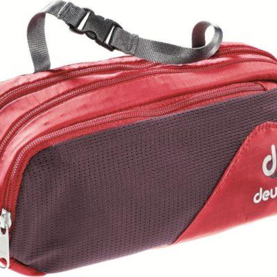 Deuter Kosmetyczka turystyczna Wash Bag Tour II Fire/Aubergine roz uniw 39492-5513) 39492-5513