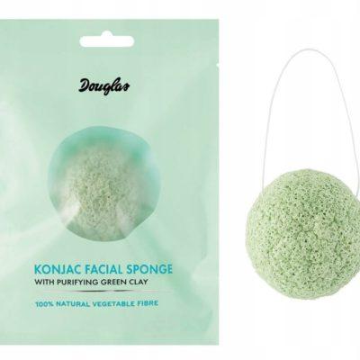Douglas Douglas Gąbka Konjac Sponge Z Zieloną Glinką