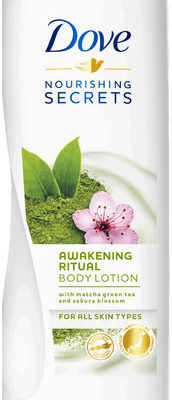 Dove Nourishing Secrets Awakening Ritual pobudzający balsam do ciała Matcha Green Tea & Sakura Blossom 400ml