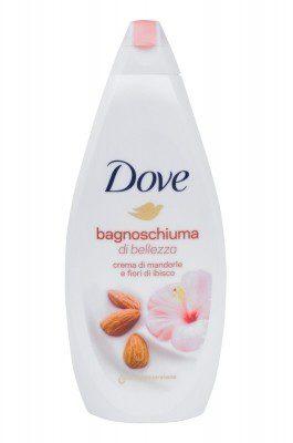 Dove Purely Pampering Almond Cream pianka do kąpieli 700 ml dla kobiet