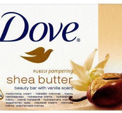 Dove Unilever Kremowa kostka myjąca Purely Pampering Shea Butter 100 g