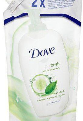 Dove Unilever Płyn do mycia rąk Go Fresh Fresh Touch Cucumber and Green Tea opakowanie uzupełniające 500 ml