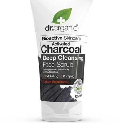 DR ORGANIC DR ORGANIC ACTIVATED CHARCOAL PEELING DO TWARZY  125ML