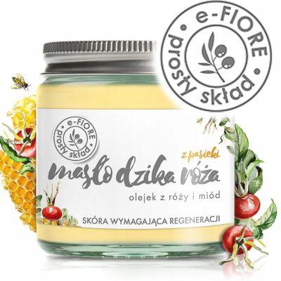 e-FIORE Naturalne Masło Shea do Ciała Opuncja wege