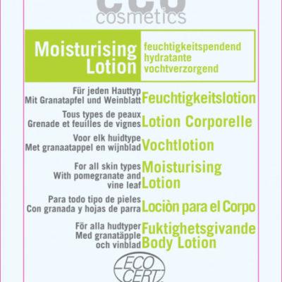 Eco Cosmetics Balsam nawilżający do ciała z liściem winorośli i zieloną herbatą 5 ml CP120