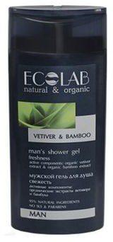 Ecolab Biosfera Żel pod prysznic Świeżość skóry dla mężczyzn 250 ml BS310