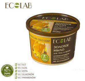 Ecolab Ecolaboratorie Złote Marokańskie Mydło do Włosów i Ciała