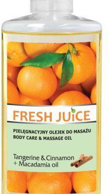 Elfa PHARM FRESH JUICE pielęgnacyjny olejek do masażu TANGERINE & CINNAMON + MACADAMIA Oil 150 ml 17970
