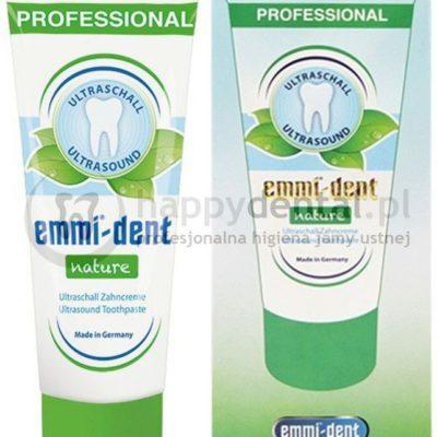 Emag Emmi-Dent NATURE 75ml - pasta do zębów do szczoteczek ultradźwiękowych groszek