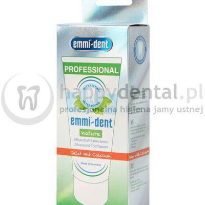 Emag Emmi-Dent NATURE CALCIUM 75ml - pasta do zębów z wapniem do szczoteczek ultradźwiękowych NOWOŚĆ