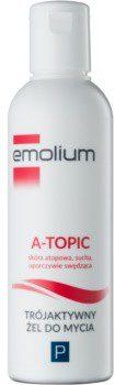 Emolium Wash & Bath P żel delikatnie myjący o potrójnym działaniu 200 ml