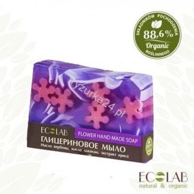 EO LABORATORIE  Naturalne mydło glicerynowe - ręcznie robione - kwiatowe EC16