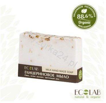 EO LABORATORIE  Naturalne mydło glicerynowe - ręcznie robione - mleko i miód EC17