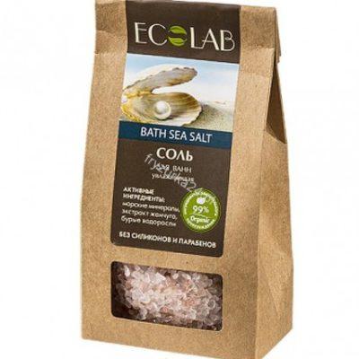 EO LABORATORIE  Sól Do Kąpieli nawilżająca- ekstrakt morszczynu, kompleks morskich minerałów, ekstrakt perły, olej z kwiatów lotosu EC22