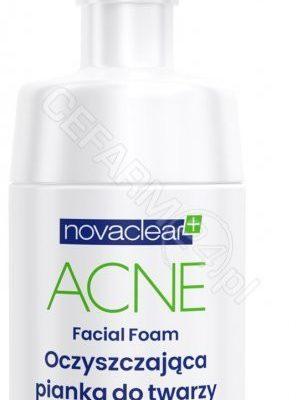Equalan Novaclear+ Acne oczyszczająca pianka do twarzy 100 ml
