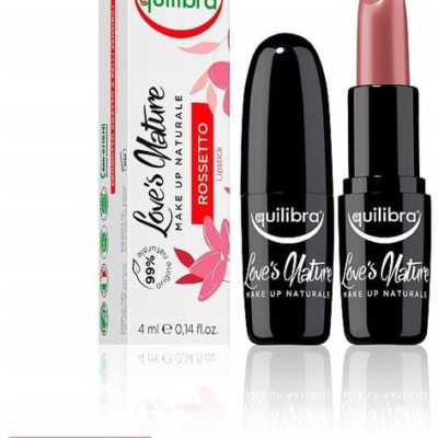 EQUILIBRA Loves Nature pomadka do ust 02 Delicate Rose 4ml