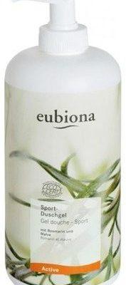 Eubiona Sport, żel pod prysznic z rozmarynem i malwą dla aktywnych, 500 ml